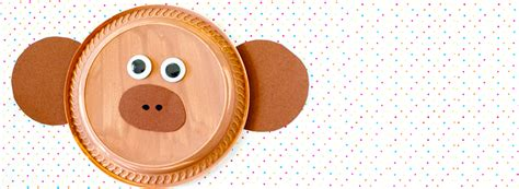 monkey paper plate craft monkey paper plate craft starskills