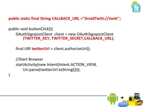 twitter layout explained android twitter and c2dm explained