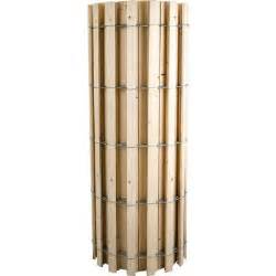 everbilt 4 ft x 50 ft wooded slat snow fence 348501a
