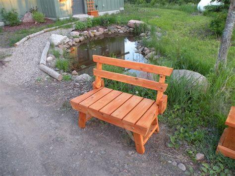 red cedar bench folding red cedar garden bench outdoor benches by