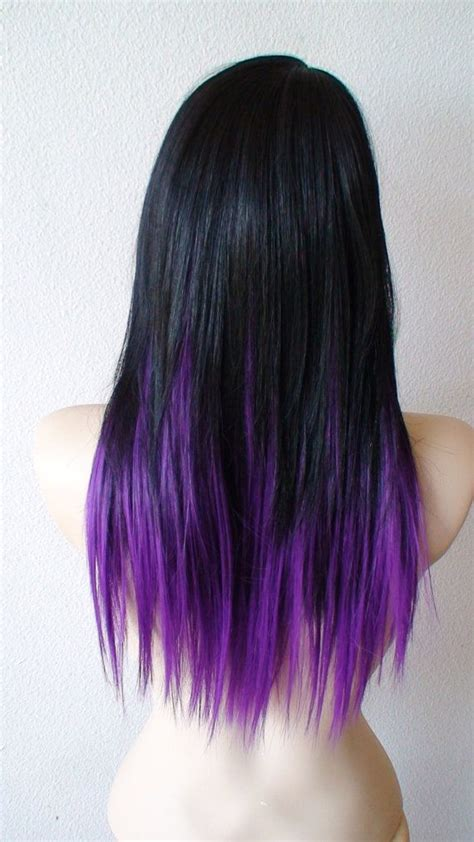 hair styes dye at bottom 15 fantastic purple hairstyles pretty designs