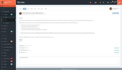 とってもイケてるwebテンプレート Rubix With Reactjs Reactjs Bootstrap Template