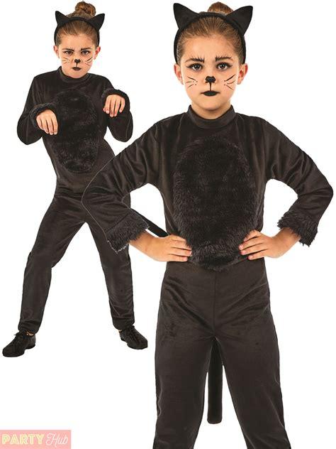 Cat Costume childs black cat costume animal fancy