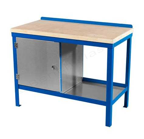 wood top work benches heavy duty workbenches benchmaster fully welded products