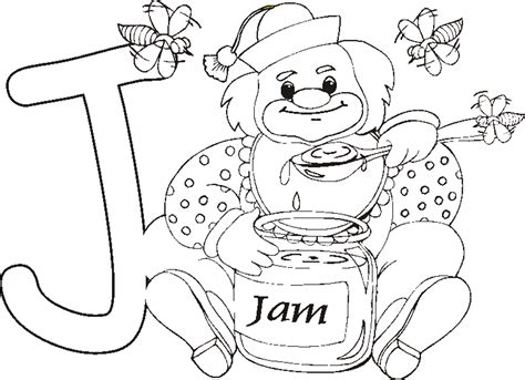 Jam Coloring Pages Glum Me Jam Coloring Pages