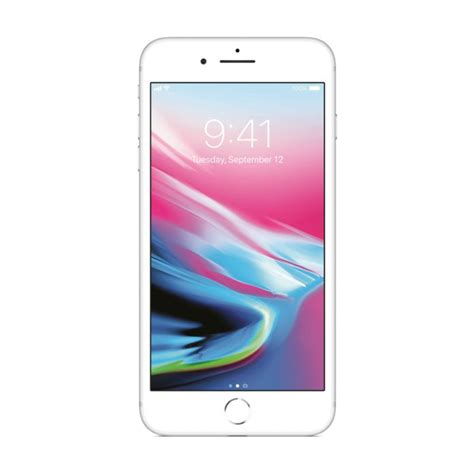 apple iphone 8 plus 256gb 4g lte silver with facetime itshop ae