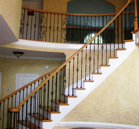 Metal Stair Banisters by Advanced Staircase Iron Balusters Stair Parts Rails Spindels Upgrade