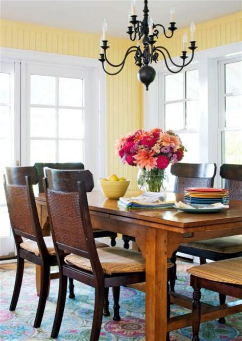 Casual Cottage Chic by 30 Dining Room Decorating Styles Midwest Living