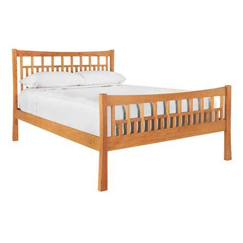 High Footboard Bed by Craftsman High Footboard Platform Bed