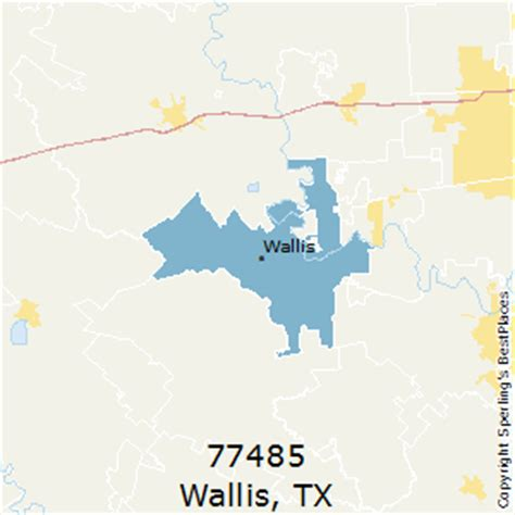 wallis texas map best places to live in wallis zip 77485 texas