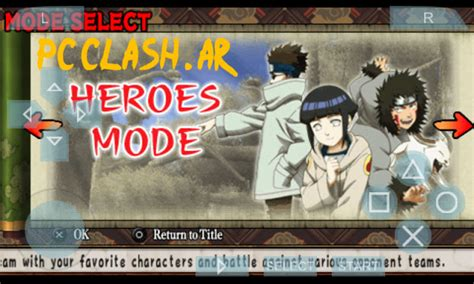 game psp android format cso naruto ultimate ninja heroes for android free download