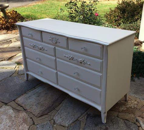 vintage painted provincial dresser