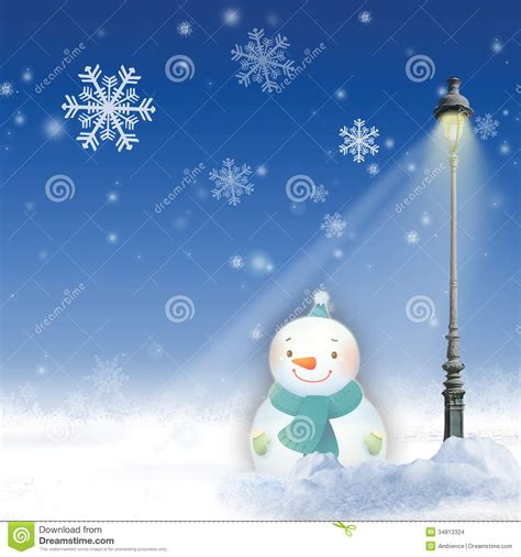 winter holiday theme background stock illustration