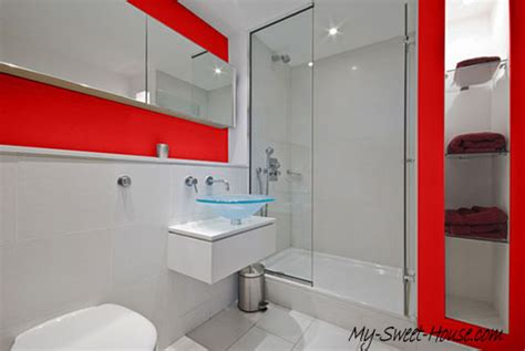 red and white tiles for bathroom high end tile bathroom designs for a fresh new look my sweet house