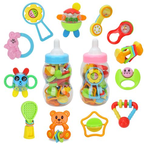 baby toys for free shipping cheer g large bottle rattles teethers 1 twinset baby newborn baby 0 1 year