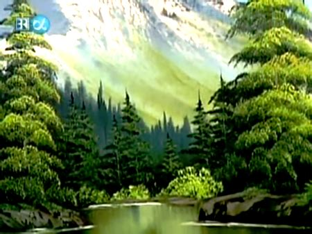 bob ross painting valley view valley view the of painting s21e1