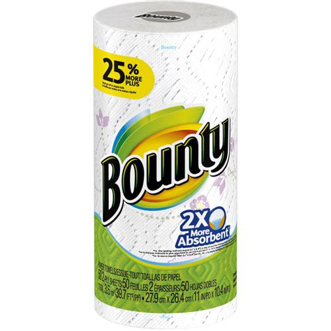 Who Makes Bounty Paper Towels - paper towels