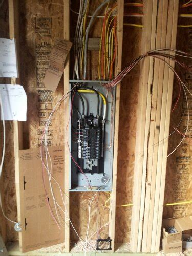 residential new construction house wiring kent wa