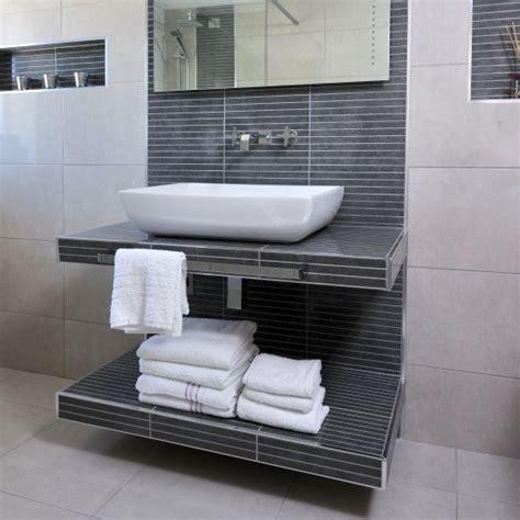 sink bathroom storage ideas tiled wash station with sink storage bathroom