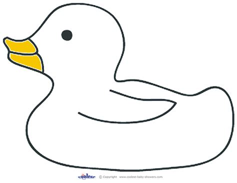 duck template printable rubber ducky 2 coolest free printables