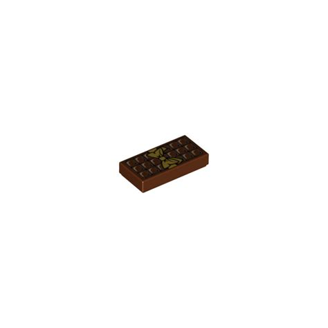 Lego Brown Chocolate lego reddish brown tile 1 x 2 with chocolate bar