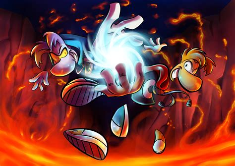 Raymesis and Rayman by Light262 on DeviantArt