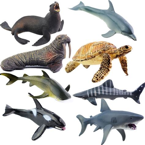Sea Animal 2 simulation plastic animals figure sea creatures