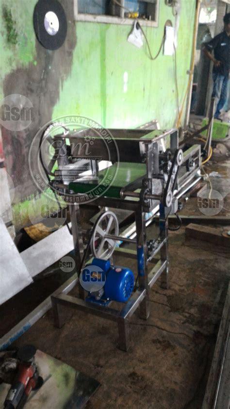 Mesin Makanan Grosir Bahan alat penipis adonan roti toko mesin gama sakti