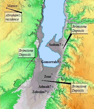 sodom and gomorrah map ambassador for ministries inc 149 genesis