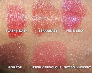 Mac Fafi Review And Mac Fafi Giveaway by Mac Cosmetics Fafi For Mac Swatches
