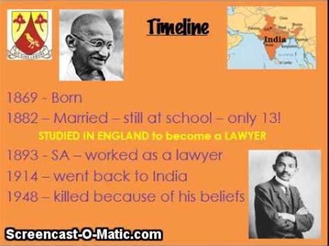 mahatma gandhi biography timeline eps gr4 revision history mahatma gandhi timeline youtube