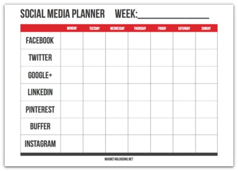 social media planner smart ways to get your blog noticed without google or seo
