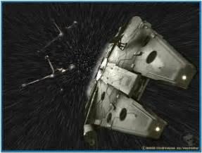 Star wars screensaver hyperspace   Download free