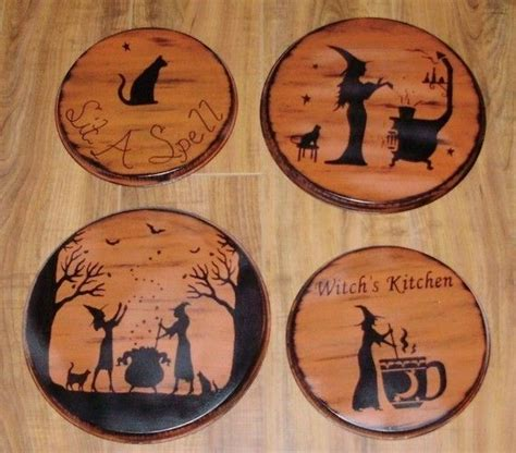 Primitive Home Decor Coupon Code primitive witches stovetop burner covers halloween decorations and