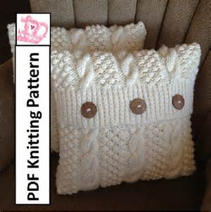 Free Knitting Pattern For Cushion Covers Best 25 Knitted Cushion Pattern Ideas On