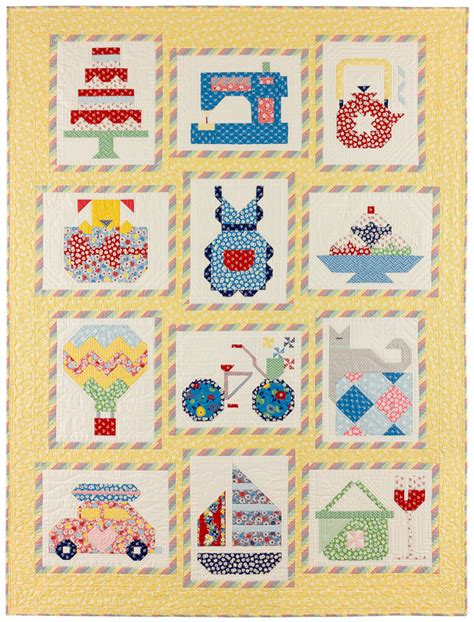 Snapshot Quilt Pattern by Snapshots Quilt 187 Bunny Tales