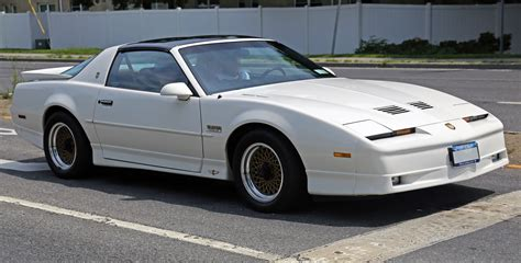 pontiac trans am turbo file 1989 pontiac firebird trans am gta turbo t top 20th