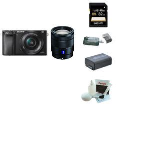 Promo Sony Alpha A6000 New Bp1708n sony alpha a6000 ilce 6000 interchangeable lens black with 16 50mm and 16 70mm lens