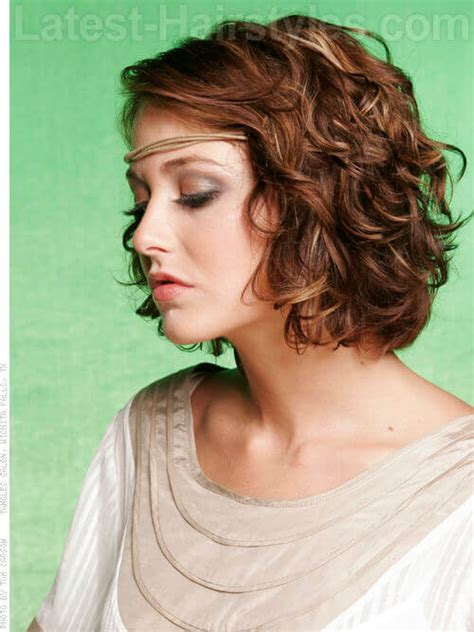 short layered hair wit loose perm 30 curly bob hairstyles that simply rock best curly bobs