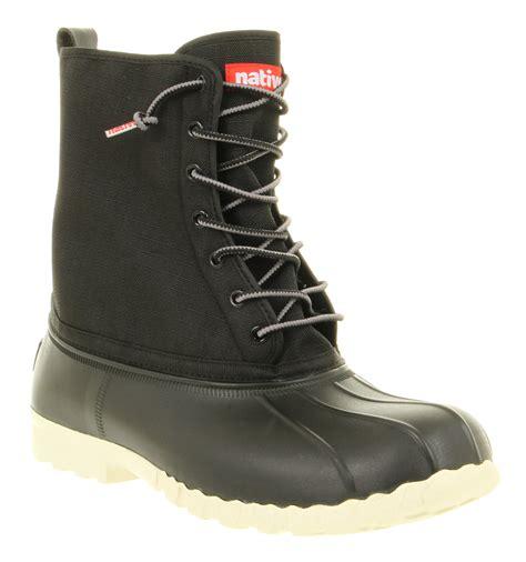 black duck boots mens jimmy duck boot jiffy black boots ebay