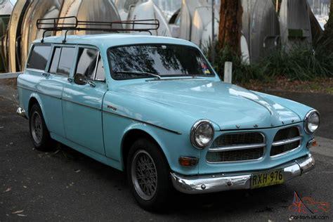 volvo  amazon wagon  original light blue vw  holden fj ek ej eh