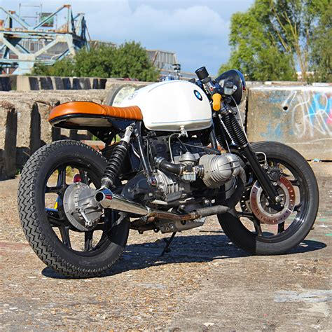 bmw motorcycle cafe racer 1983 bmw r100 cafe racer by ironwood motorcycles bikebound