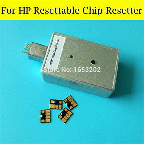chip resetter for hp ink cartridges 1 pc resetter use for hp 1050 1055 1050ps printer with 4
