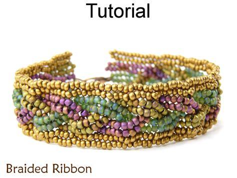 beaded cuff bracelet tutorial beading tutorial bracelet herringbone stitch simple bead