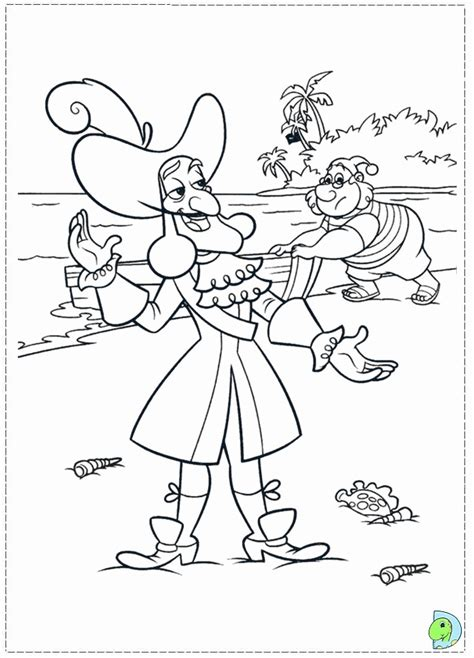 jake and the neverland pirates drawing az coloring pages