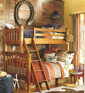 Cowboy Bunk Beds Ralph Talmadge Hill I The L In Finish And The Indigo And Bed