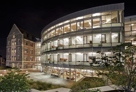 Georgetown Mba Admissions Office by Rafik B Hariri Building Mcdonough School Of Business