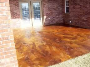 concrete patio stain ideas acid staining concrete patio home design ideas and pictures