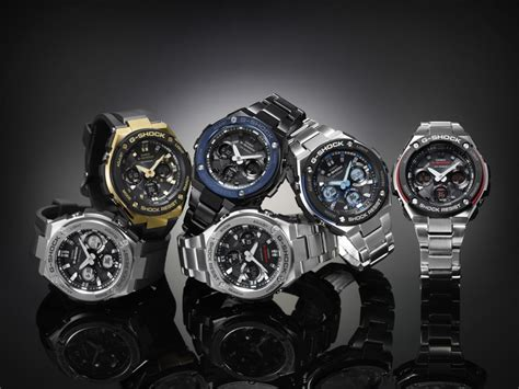 Casio G Shock Gst S110bd 1a2dr Tough Solar Stainless Steel Band 200m casio g shock g steel gst s110 gst s100 nuevos relojes