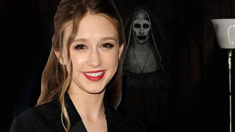 the nun cast actress taissa farmiga joins the conjuring spinoff the nun